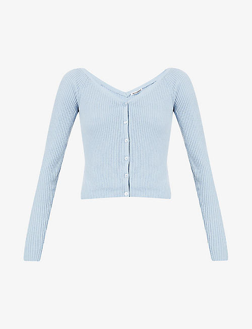 REFORMATION: Faro recycled cashmere-blend cardigan