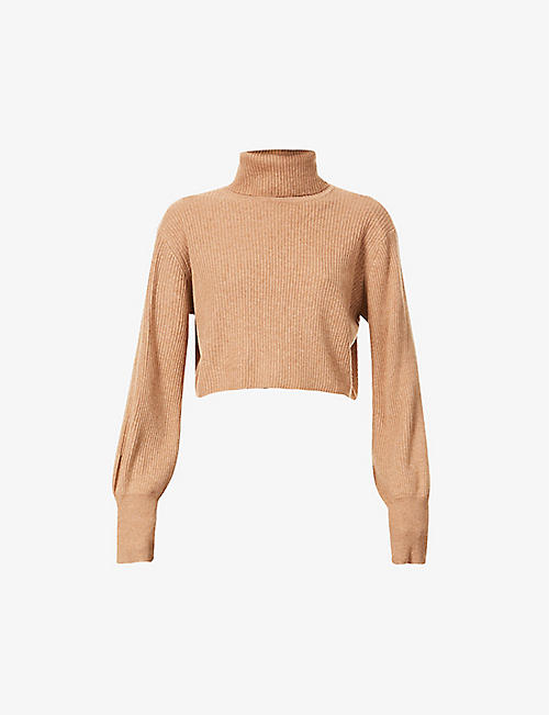 REFORMATION: Luisa turtleneck recycled cashmere jumper