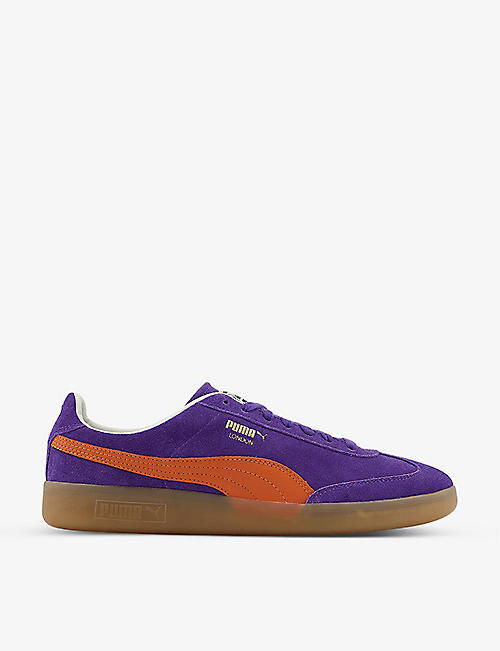 PUMA: Madrid suede trainers