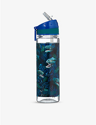 SMIGGLE: Galaxy dinasour-print drink bottle 650ml