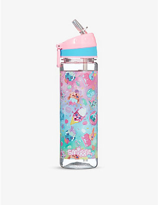 SMIGGLE: Galaxy animal-print drink bottle 650ml