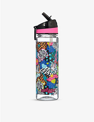 SMIGGLE: Galaxy wild-print drink bottle 650ml