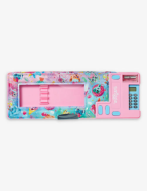 SMIGGLE: Galaxy animal-print pop-out plastic pencil case