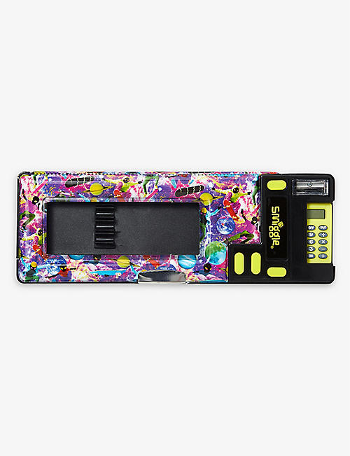 SMIGGLE: Galaxy space-print pop-out plastic pencil case