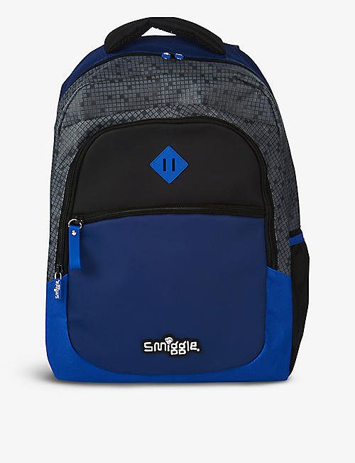 SMIGGLE: Block woven backpack