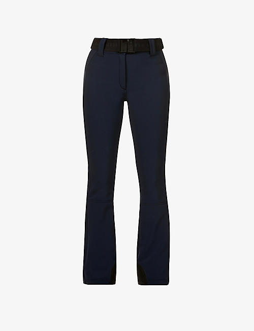 GOLDBERGH: Pippa flared high-rise jersey trousers