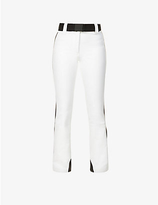 GOLDBERGH: Paloma bootcut mid-rise stretch-woven trousers