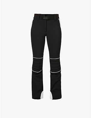 GOLDBERGH: Poppy bootcut mid-rise stretch-woven trousers