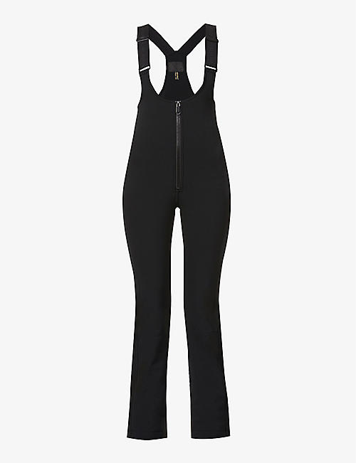 GOLDBERGH: Phoebe high-rise stretch-woven trousers