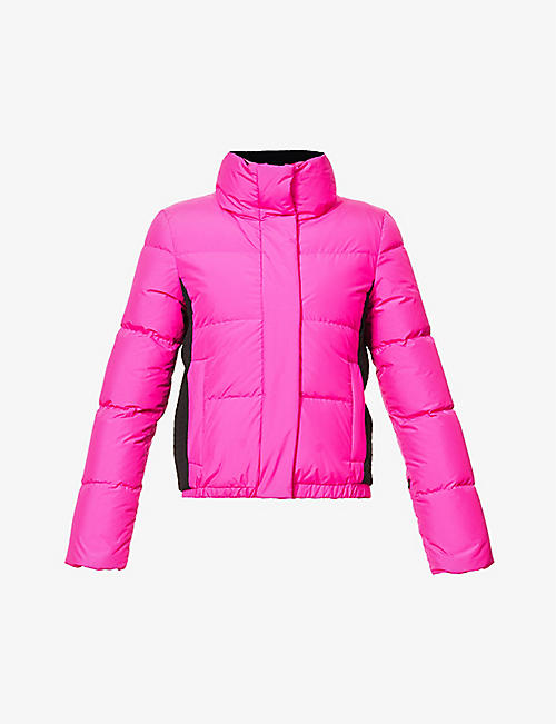 GOLDBERGH: Shorty recycled-polyester and shell-down jacket