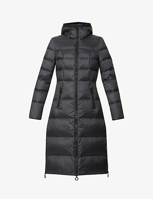 GOLDBERGH: Sophie padded recycled shell-down coat
