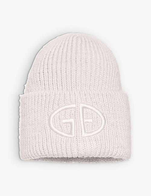 GOLDBERGH: Valerie logo-embroidered knitted beanie