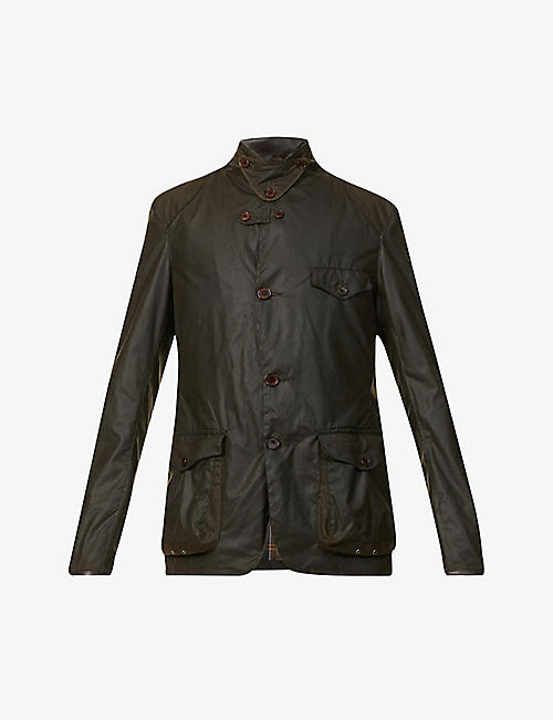 BARBOUR: Beacon Sports waxed-cotton jacket