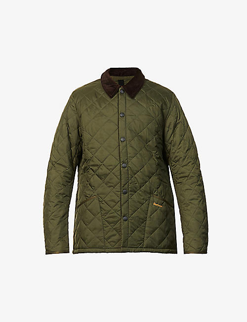 BARBOUR: Liddesdale quilted shell jacket