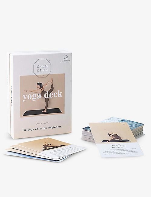 LUCKIES OF LONDON: Calm Club Yoga Deck cards