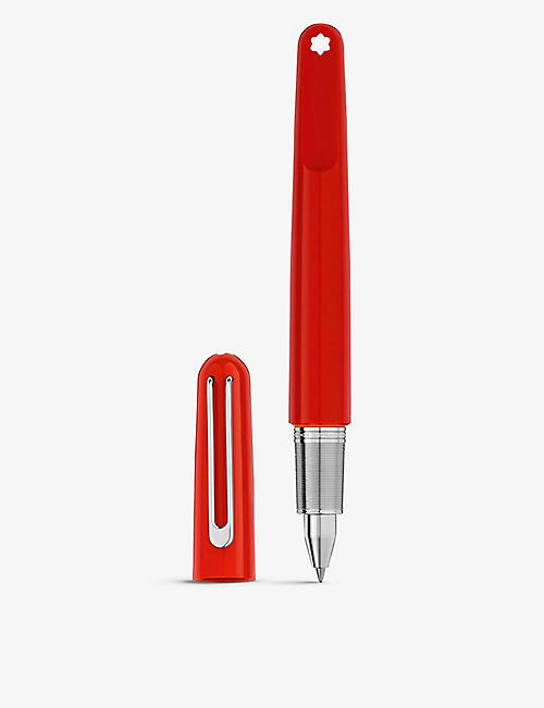 MONTBLANC: (Montblanc M) RED Rollerball pen