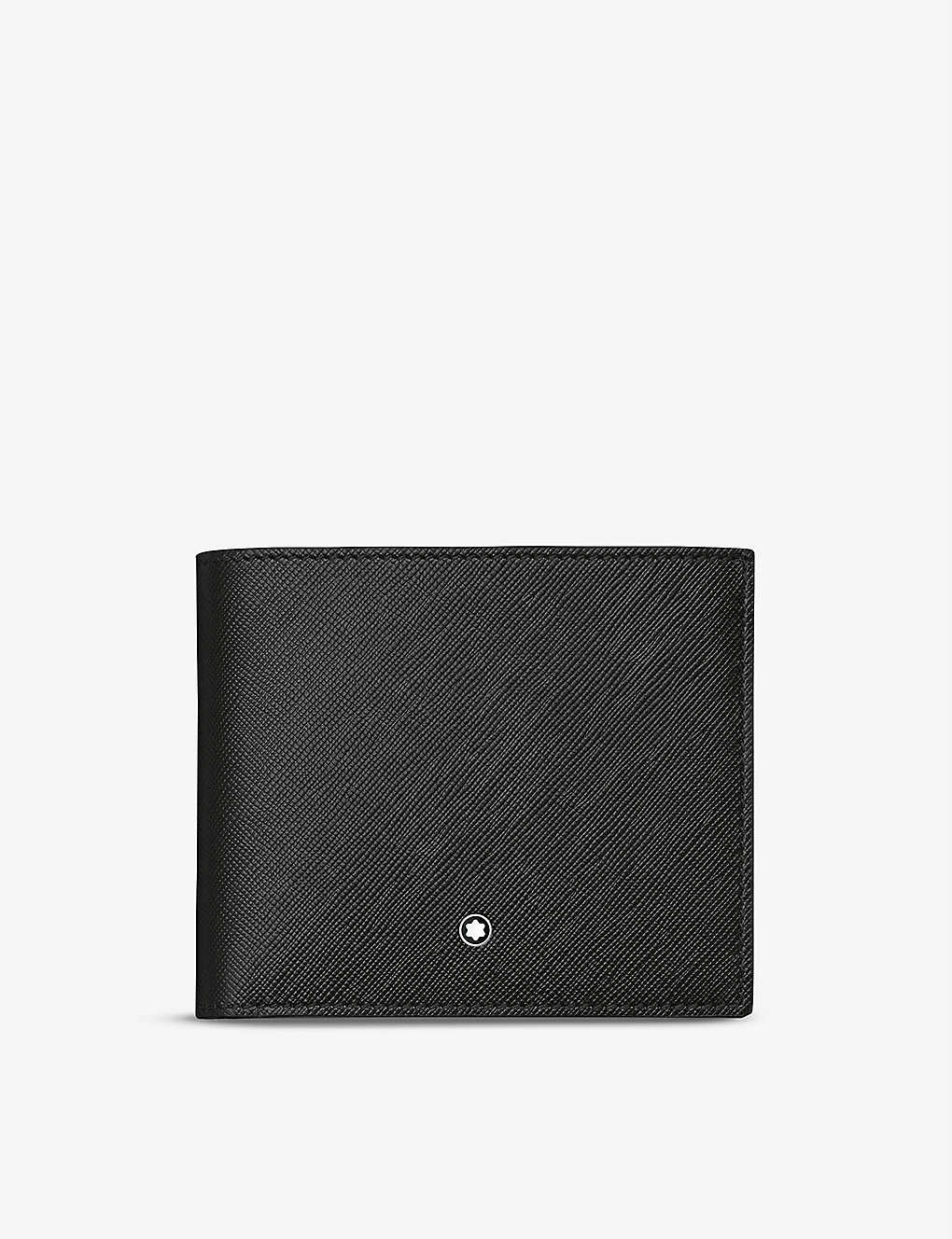 MONTBLANC: Sartorial saffiano leather wallet with coin pocket