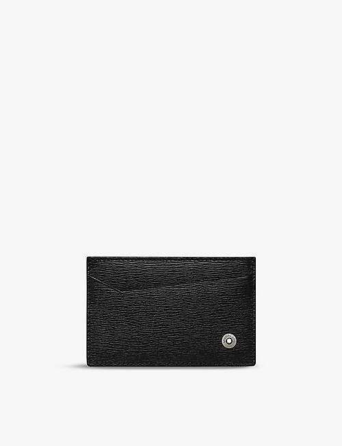 MONTBLANC: 4810 Westside leather card holder