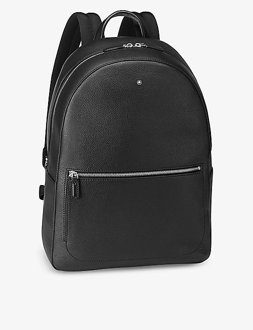 MONTBLANC: Meisterstück soft grain leather backpack