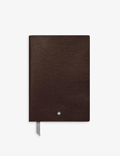 MONTBLANC: Notebook #146 leather notebook 21cm