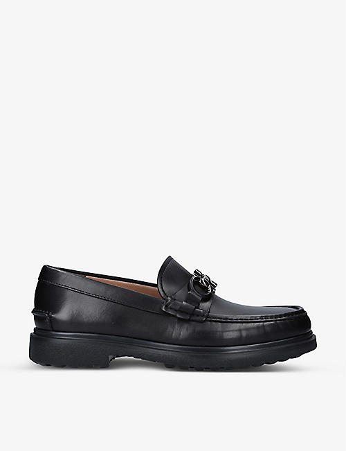 SALVATORE FERRAGAMO: Gotham leather loafers