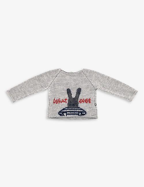 KIDSWEAR COLLECTIVE: Pre-loved Oeuf alpaca-wool sweater 2 years