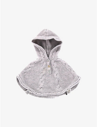 KIDSWEAR COLLECTIVE: Pre-loved Tartine et Chocolat hooded cashmere cape 0-3 months