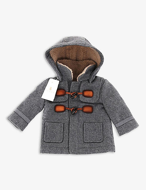 KIDSWEAR COLLECTIVE: Pre-loved Gucci wool-cashmere mix duffle coat 0-3 Months
