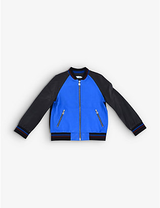 KIDSWEAR COLLECTIVE: Pre-loved Dior leather bomber jacket 8 years