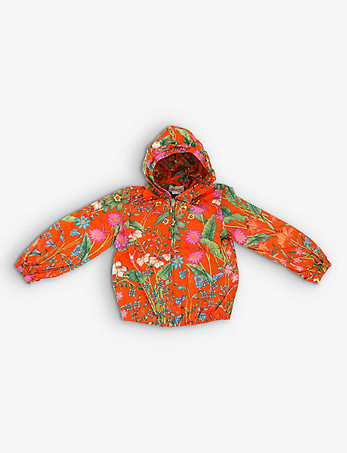 KIDSWEAR COLLECTIVE: Pre-loved Gucci floral-print jacket 2 years