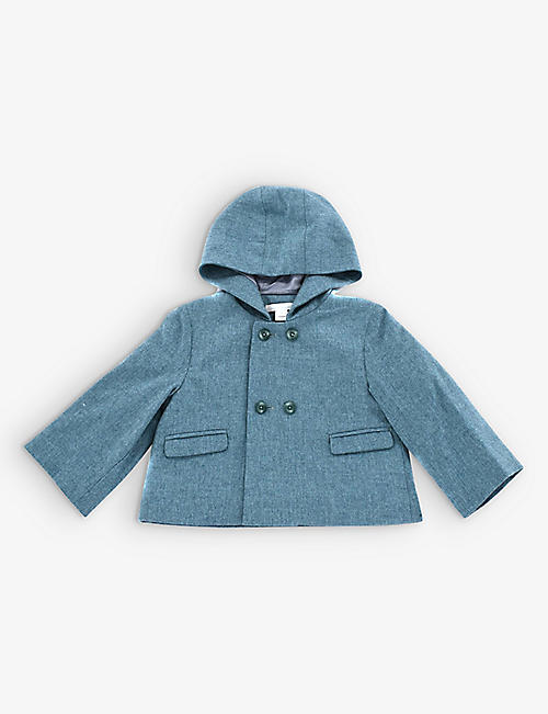 KIDSWEAR COLLECTIVE: Pre-loved Marie-Chantal wool-cashmere pram coat 2 years