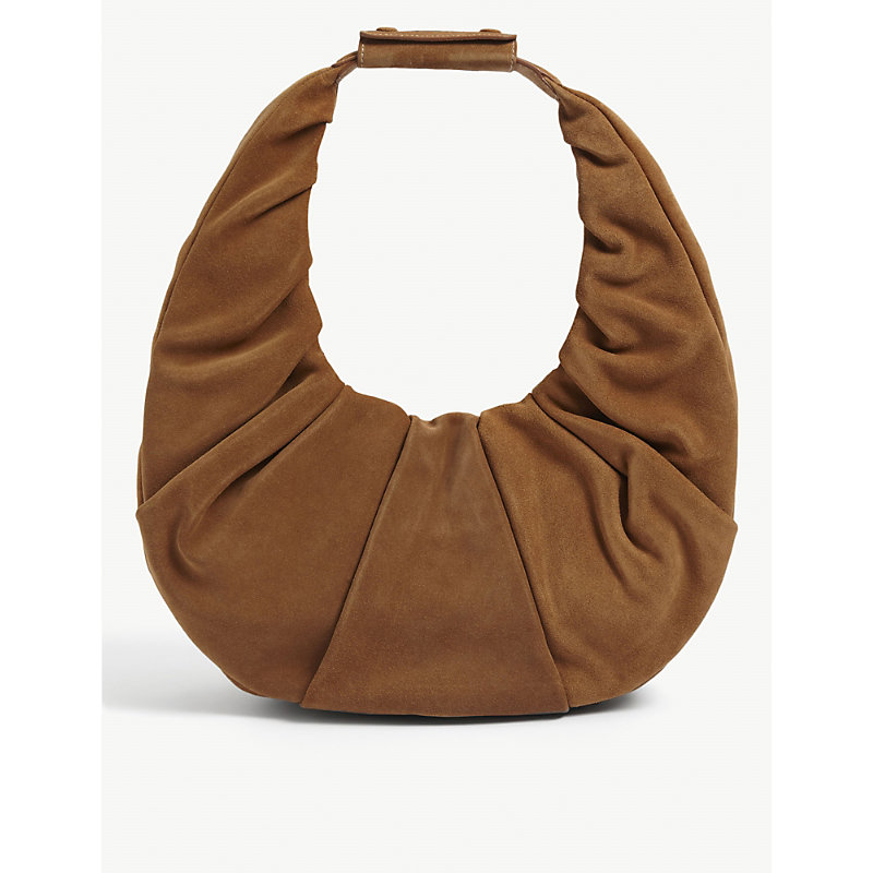 Staud MOON LARGE LEATHER SHOULDER BAG