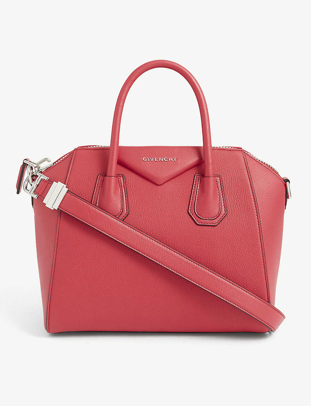 GIVENCHY: Antigona small sugar-leather tote bag