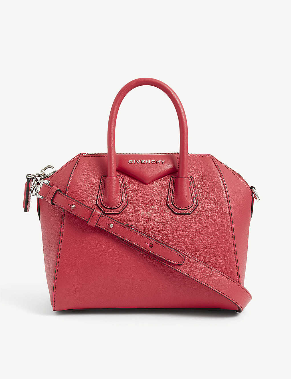GIVENCHY: Antigona mini sugar-leather tote bag