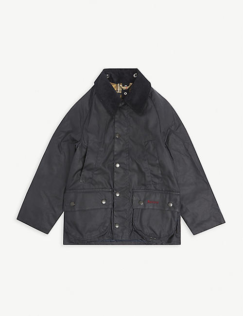 BARBOUR: Bedale waxed-cotton jacket 6-15 years