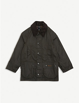 BARBOUR: Beaufort waxed cotton jacket 6-15 years