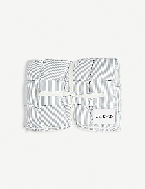 LIEWOOD: Jalle quilted organic-cotton duvet