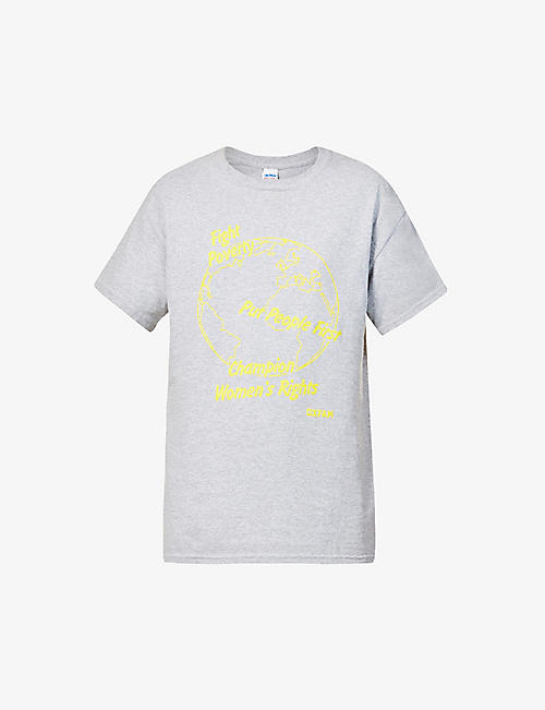 OXFAM: Fergus for Oxfam x Bay Garnett vintage cotton-jersey T-shirt