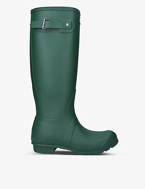 HUNTER: Original Tall vulcanised natural rubber wellington boots