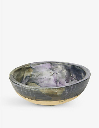 KANA LONDON: Pavilion glazed stoneware bowl 15cm