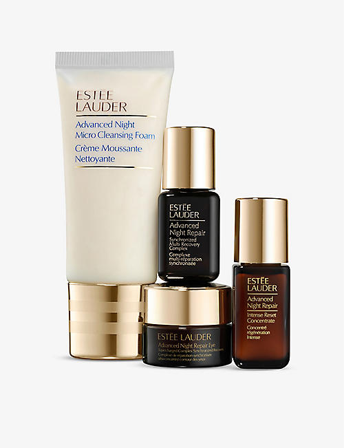 ESTEE LAUDER: S.O.S. Skincare Repair and Glow Essentials gift set