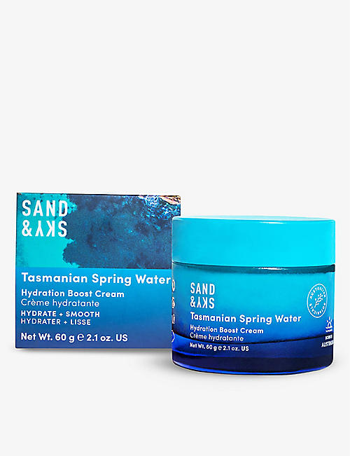 SAND & SKY: Tasmanian Spring Water Hydration Boost cream 60g