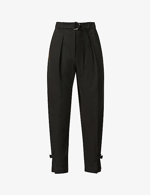 3.1 PHILLIP LIM: Tapered high-rise woven trousers