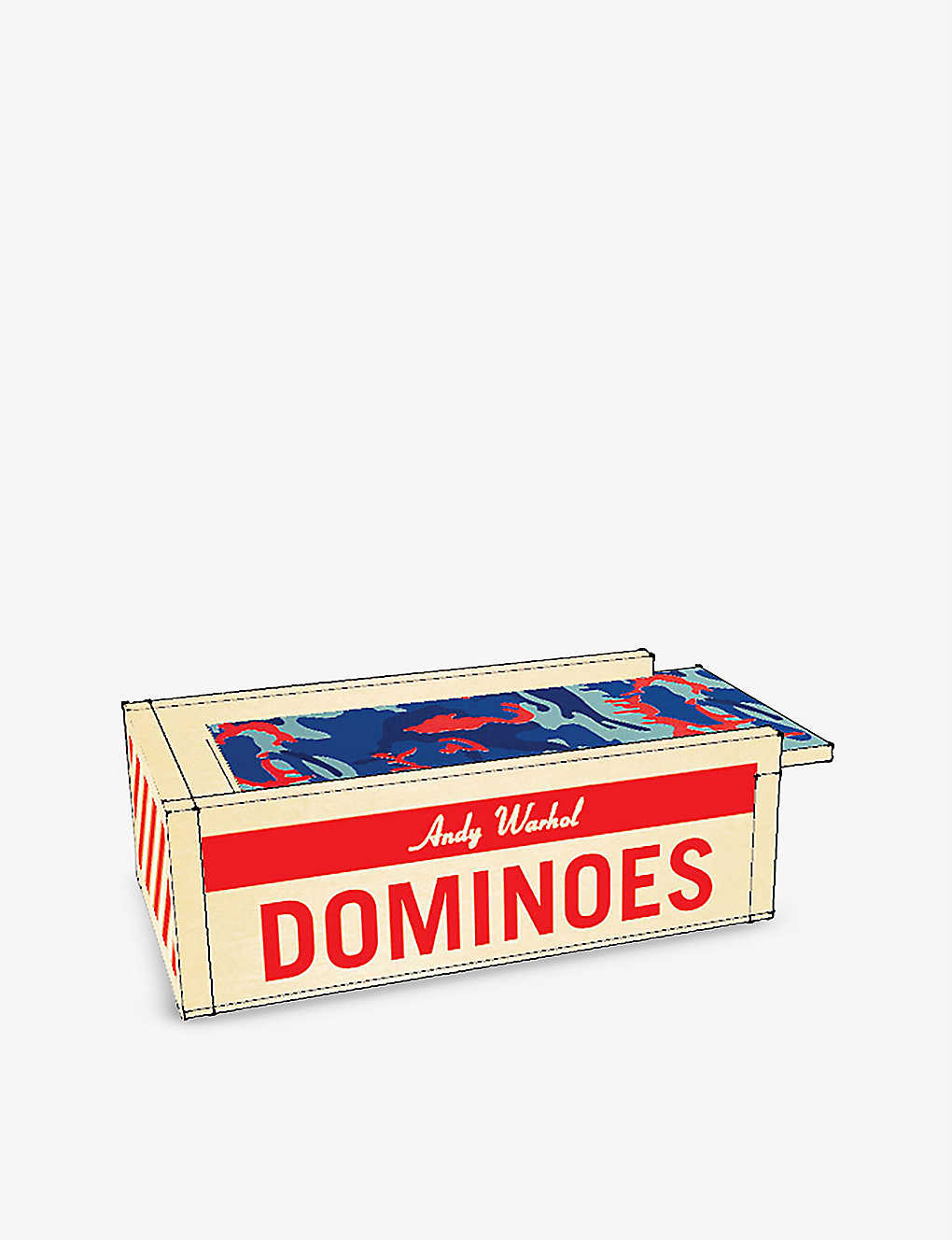 CHRISTMAS: Andy Warhol wooden dominoes set