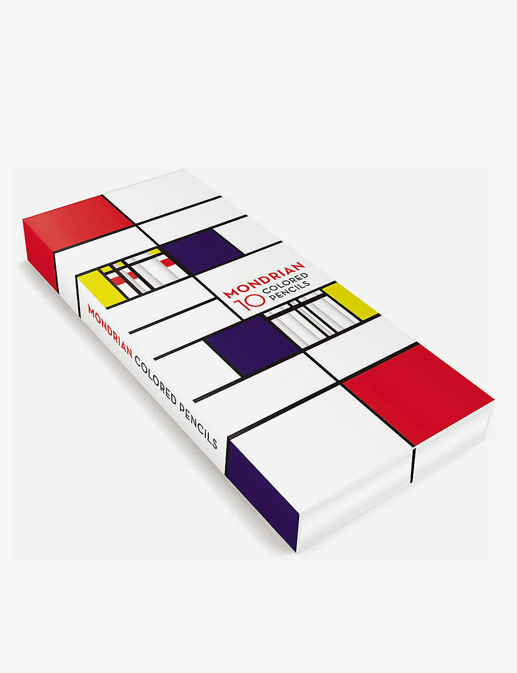 CHRISTMAS: Mondrian coloured pencils pack of 10
