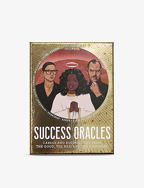 CHRISTMAS: Success Oracles: Career and Business Tips from the Good, the Bad, and the Visionary Cards