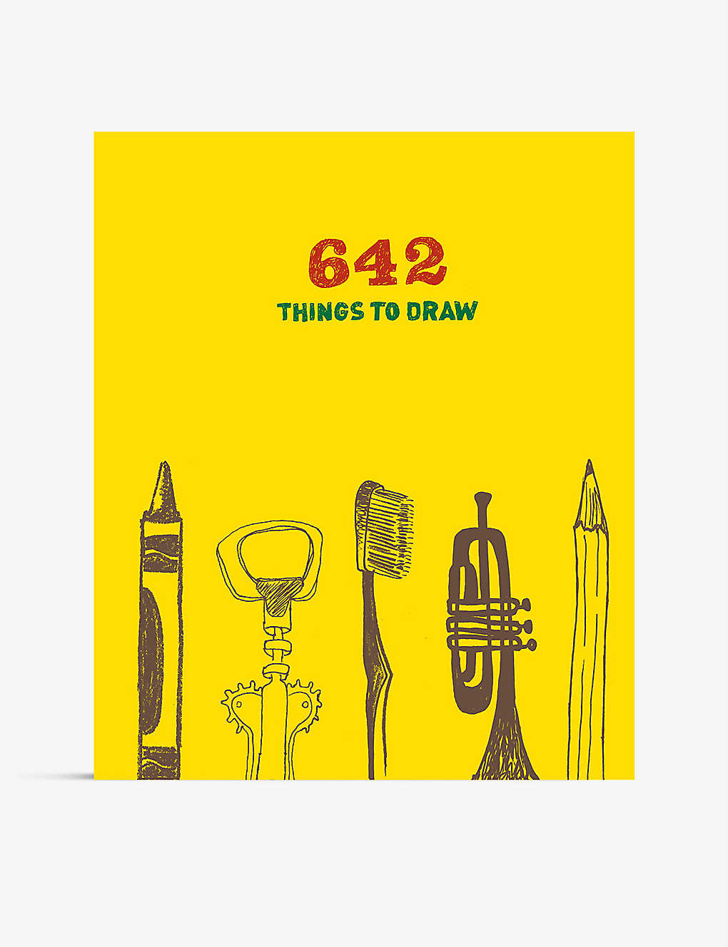 CHRISTMAS: 642 Things to Draw inspirational sketchbook