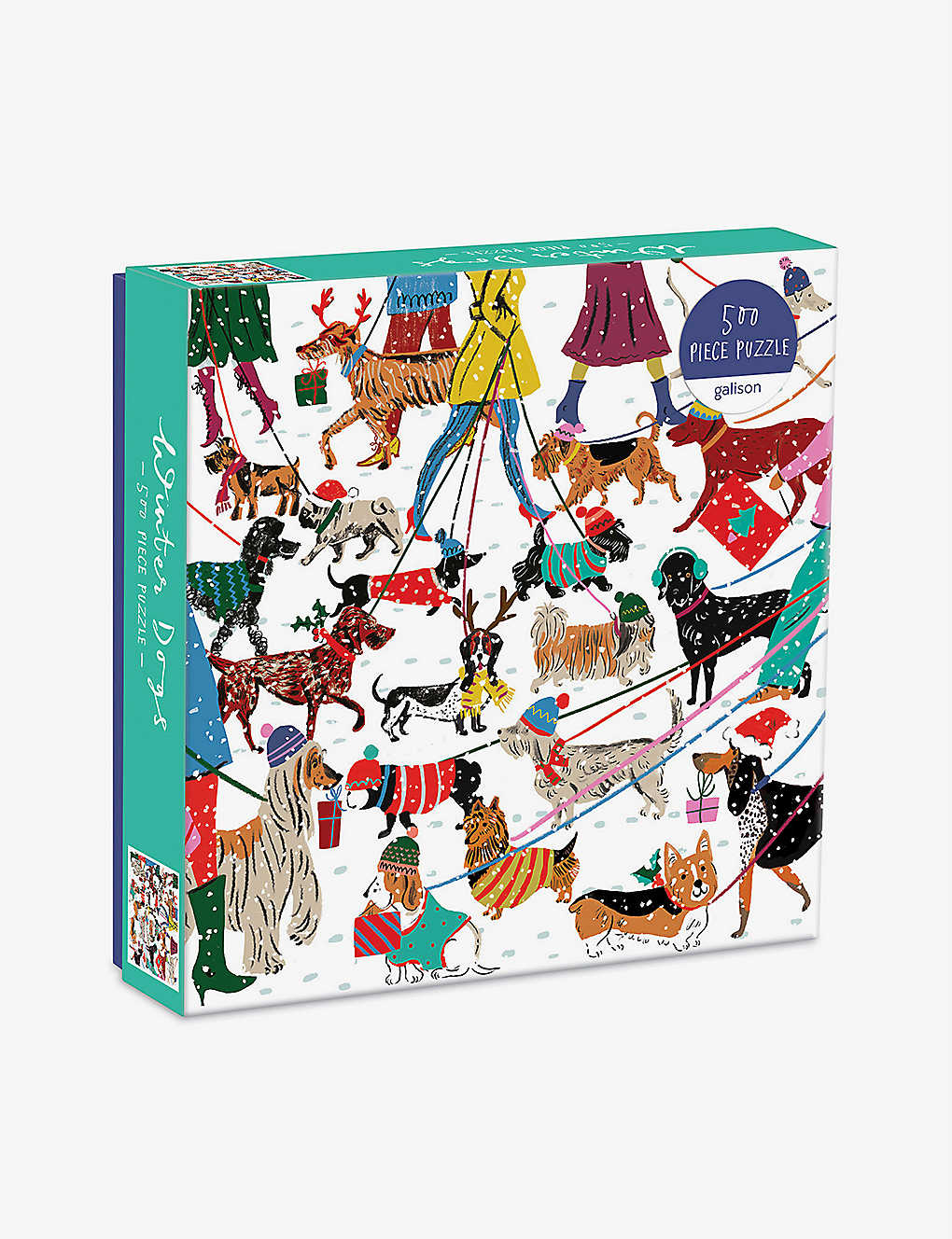CHRISTMAS: Winter Dogs 500-piece puzzle