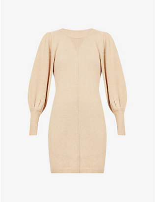 BA&SH: Nancy wool-blend mini dress