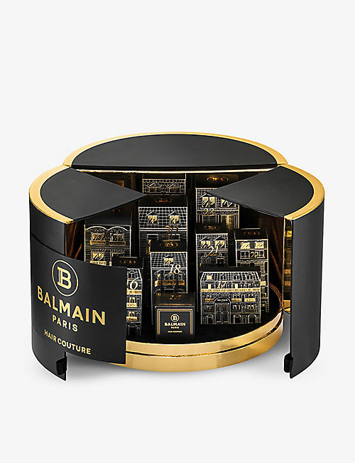 BALMAIN:Limited Edition 10 Days of Balmain Paris Hair Couture 倒数日历 2020